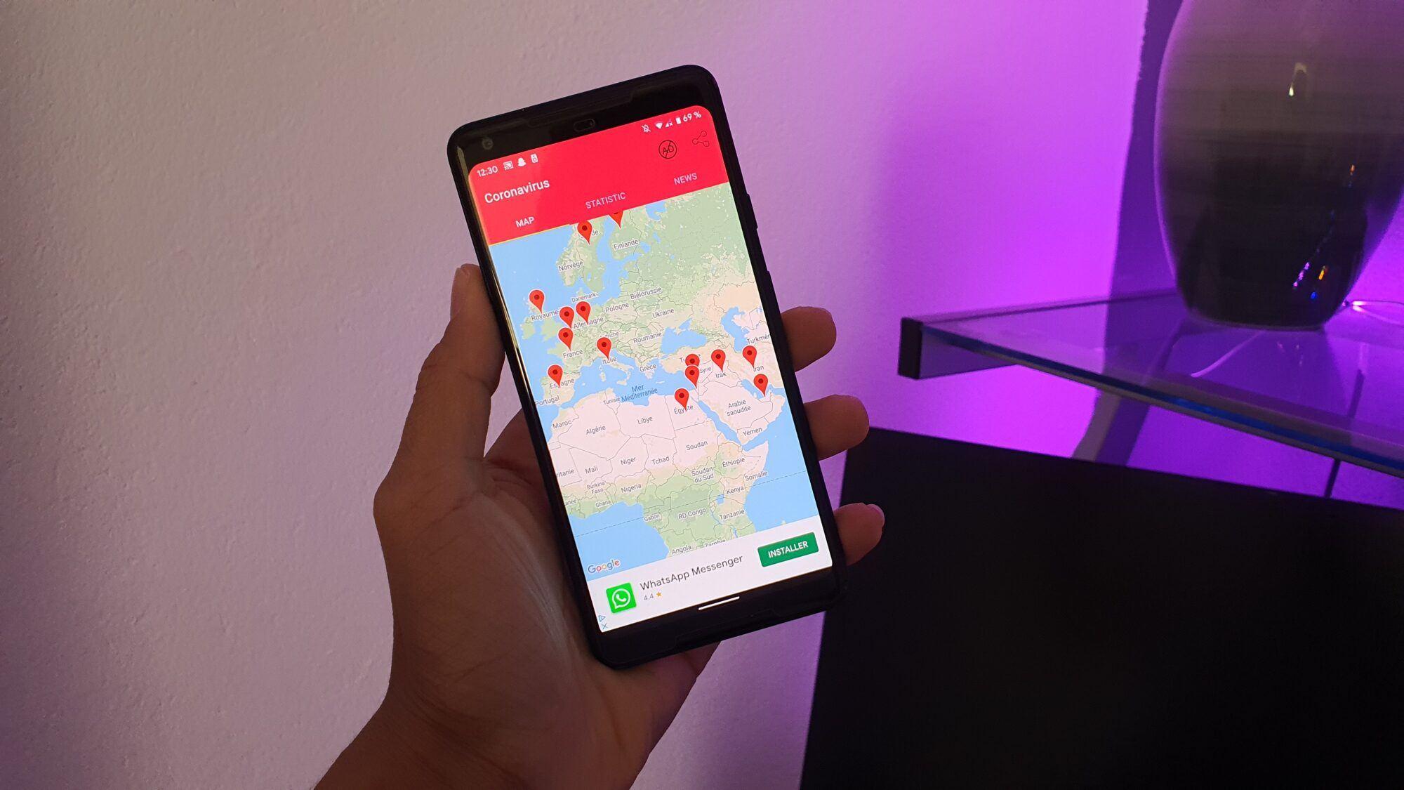 Coronavirus, Comment suivre l'évolution du coronavirus sur votre smartphone Android ?