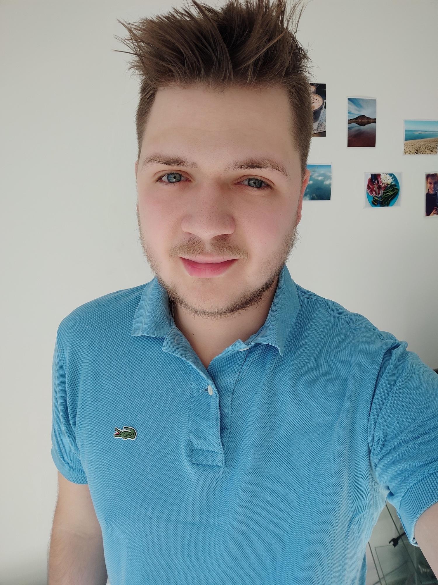 selfie classique