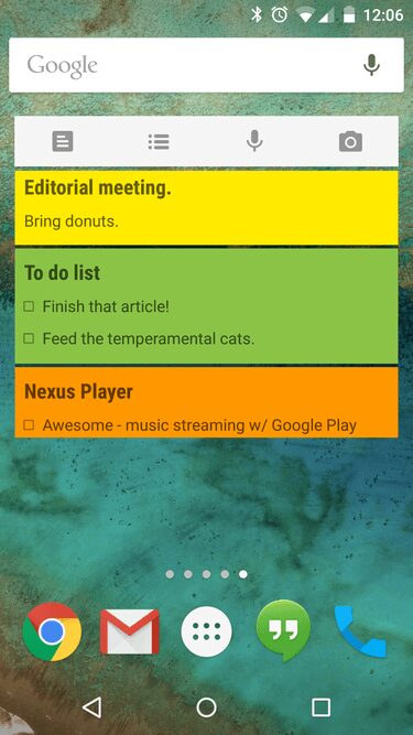 google-keep-android-widget-application