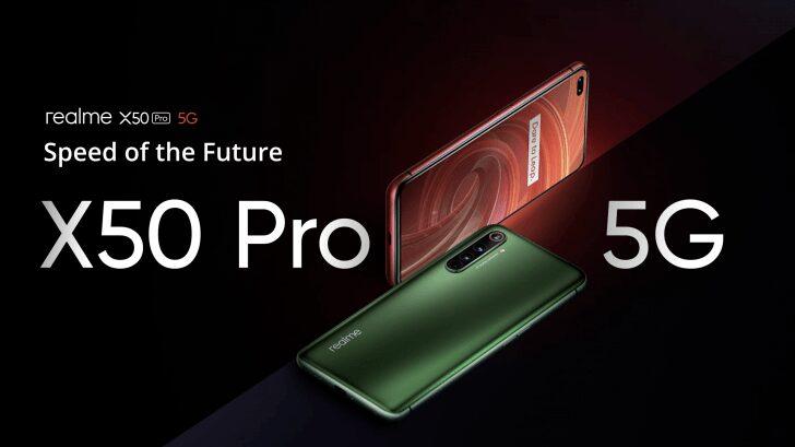 realme x50 pro, Realme X50 Pro, un smartphone 5G puissant à 599€ !