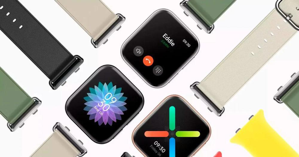 Oppo-Watch-copie-Apple-Watch