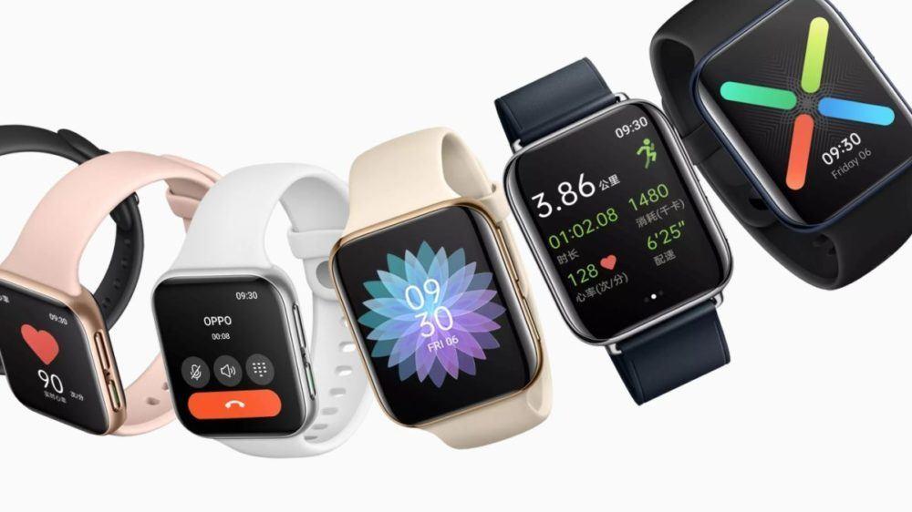 Oppo Watch, Oppo Watch, une montre connectée très similaire à l'Apple Watch