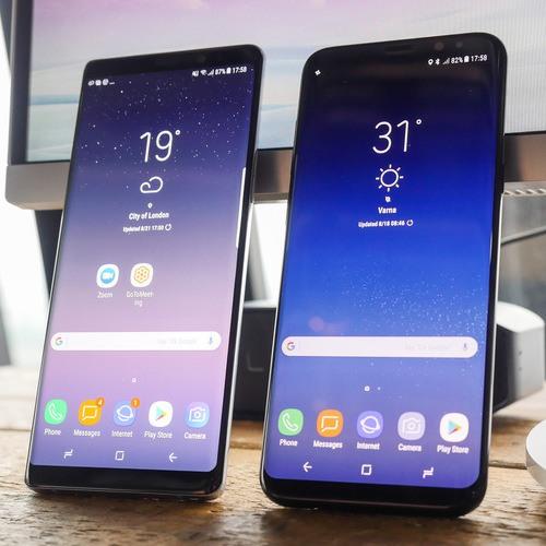 galaxy s8, Les Galaxy S8 et Note 8 n'auront pas de mise à jour Android 10