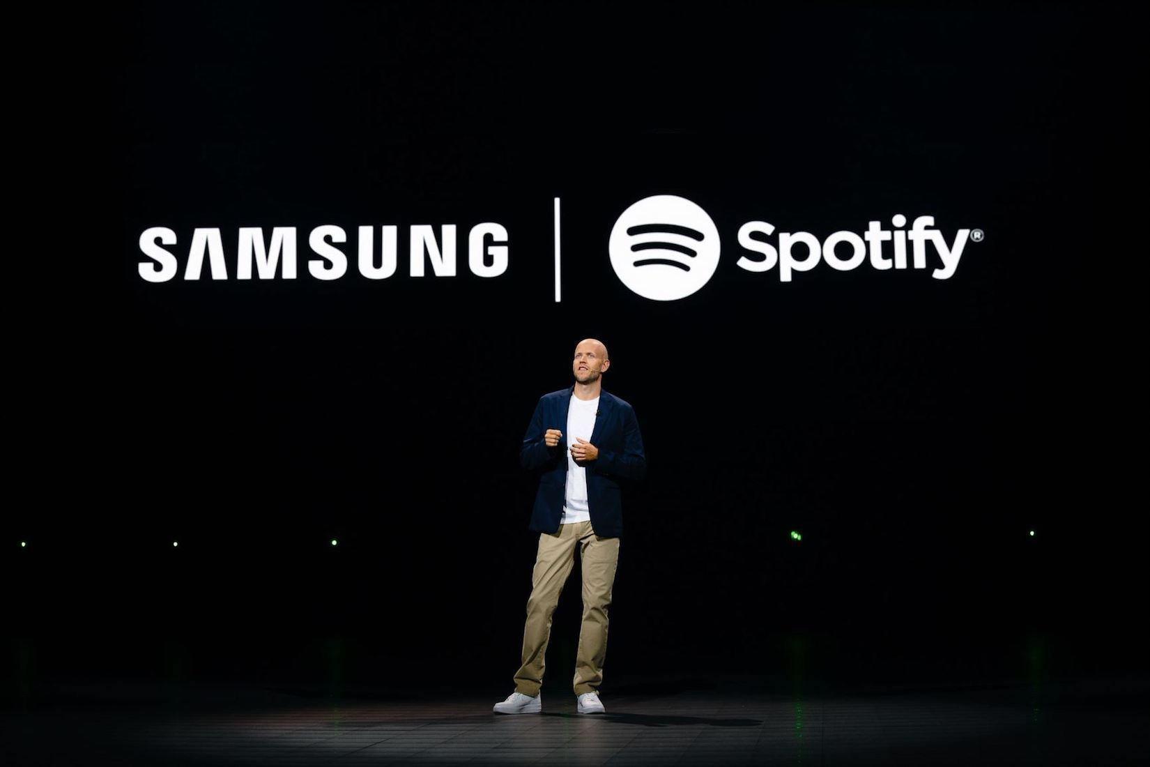 alarme spotify, Samsung One UI 2.1 – Utilisez Spotify comme alarme