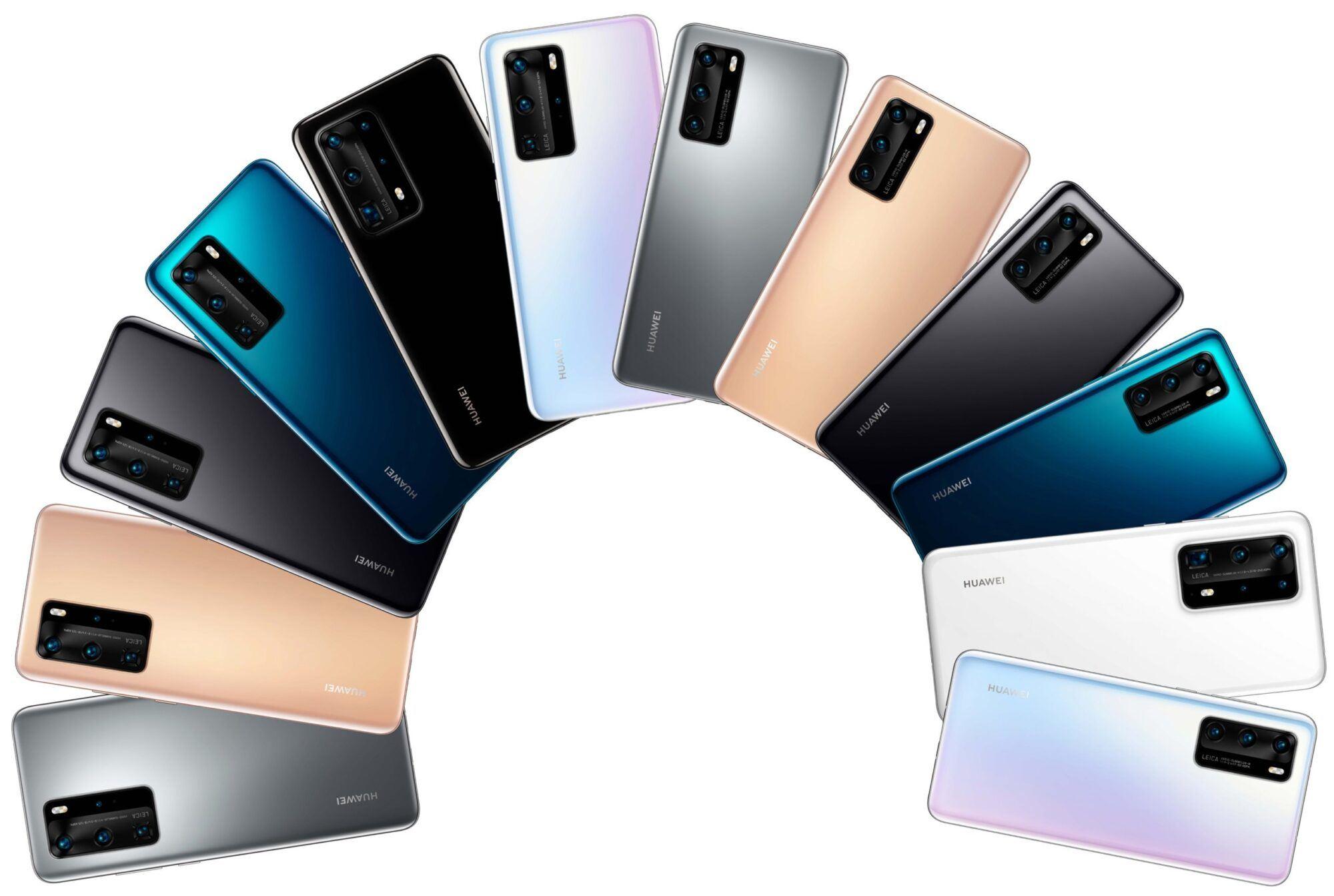 Huawei P40, Huawei P40, design et coloris dévoilés