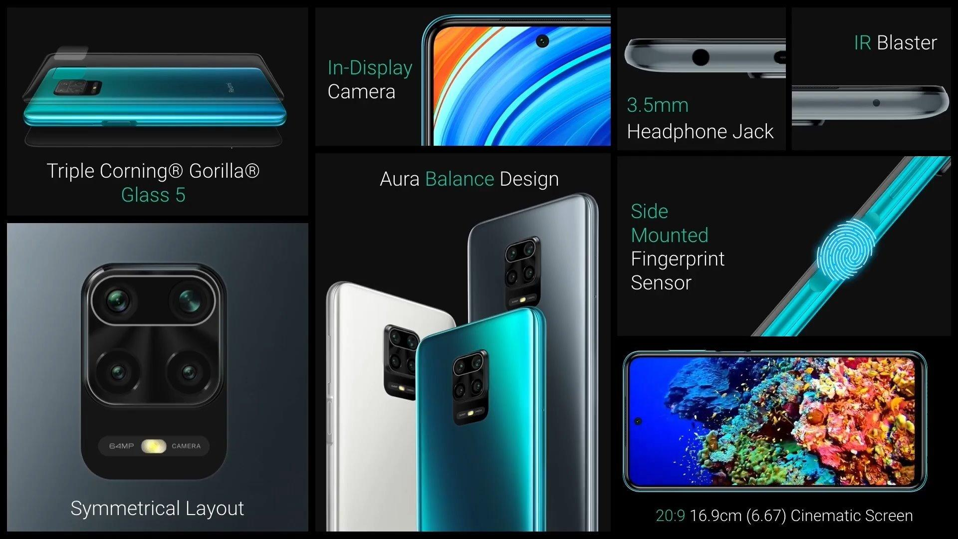 Xiaomi Redmi Note 9 Pro, Xiaomi Redmi Note 9 Pro et Redmi Note 9 Pro Max sont officialisés !