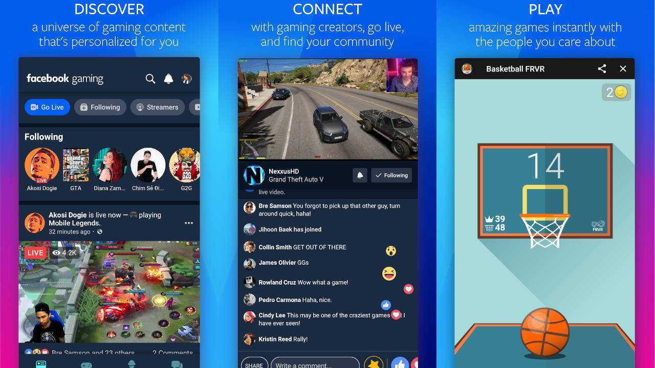 facebook-gaming-application-android-smartphone