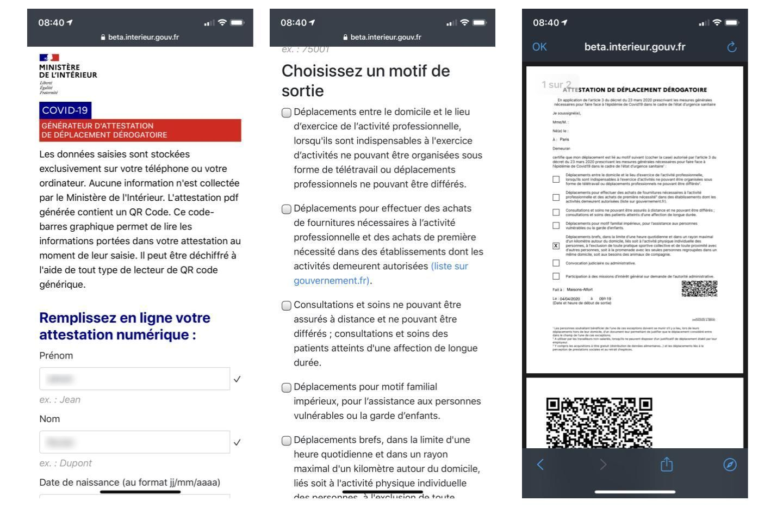 formulaire-en-ligne-attestation-deplacement-smartphon