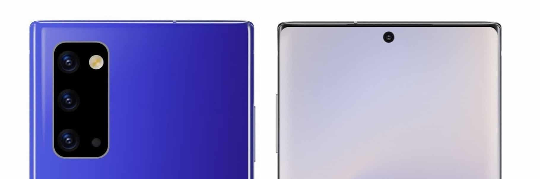 Galaxy Note 20, Samsung équiperait son Galaxy Note 20 d'une batterie de 4 000 mAh