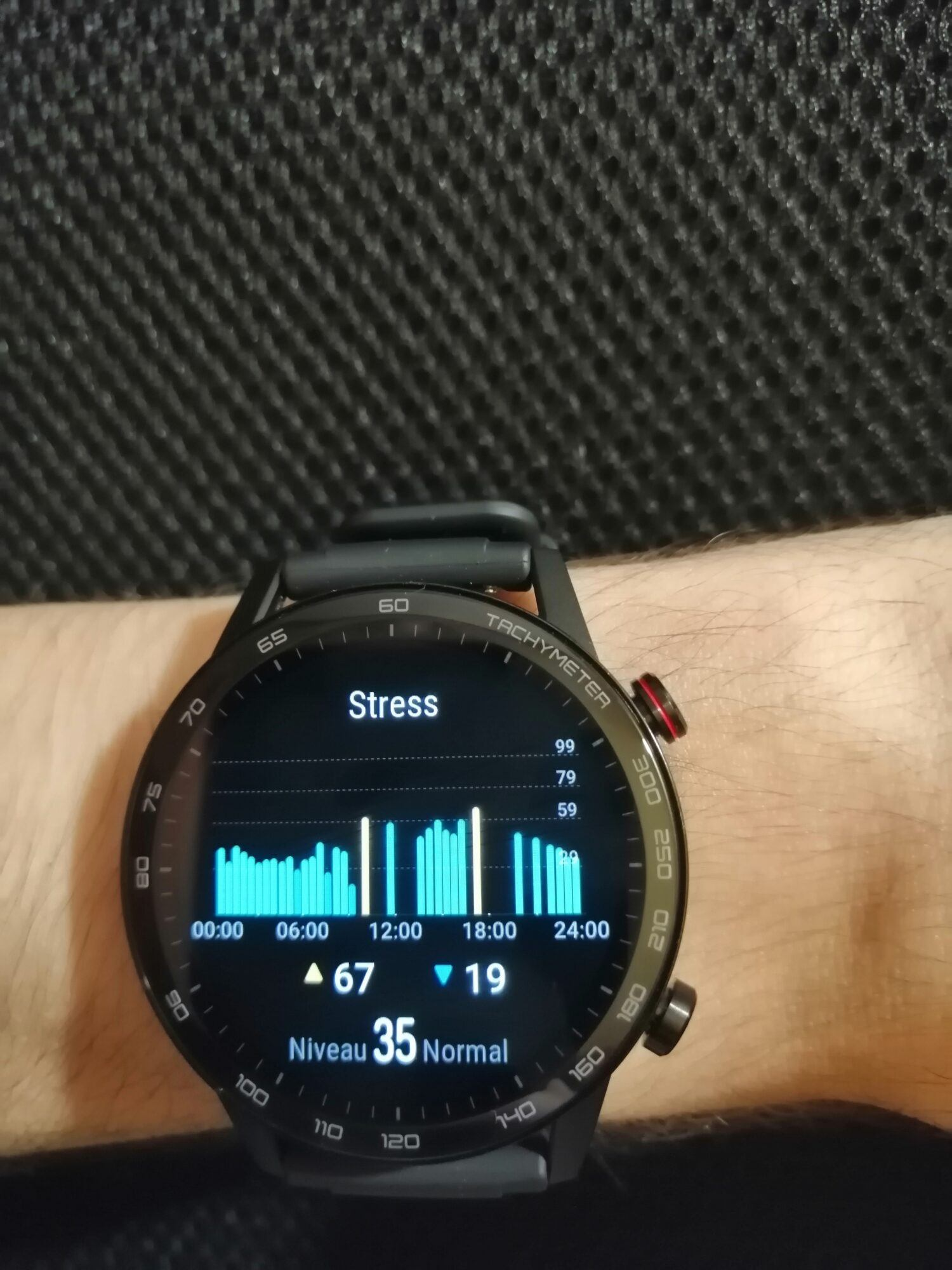Analyse du stress | Honor Magic Watch 2