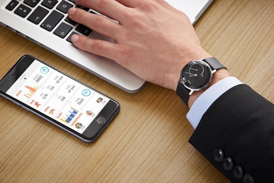 montre, Withings, connectée, montre connectée