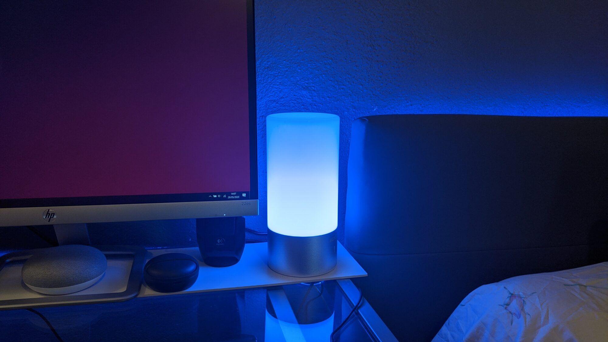 couleur, lampe colorée