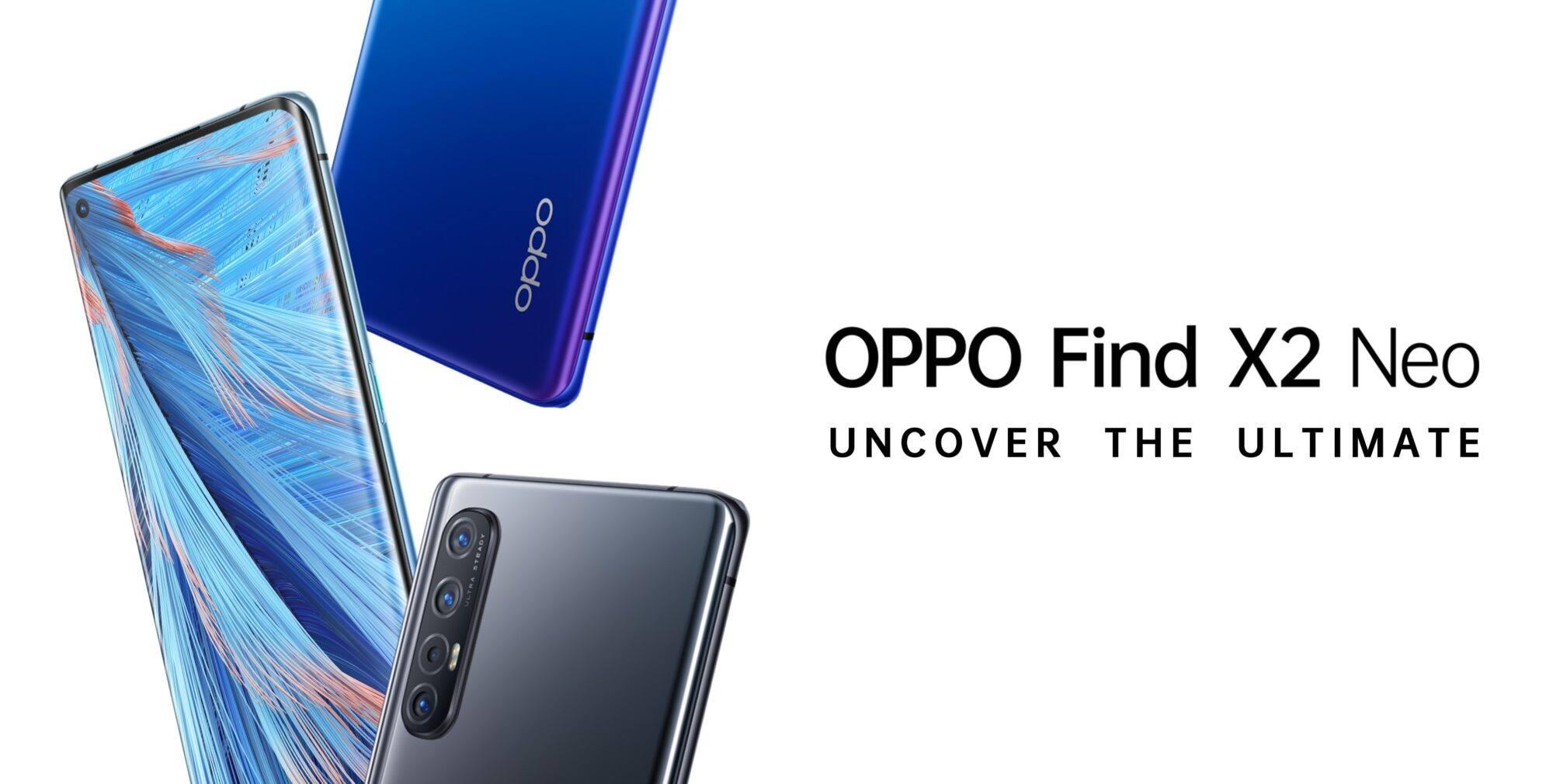 Oppo Find X2 Neo et Lite