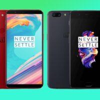 OnePlus 5 et 5 T avec une mise à jour Android 10