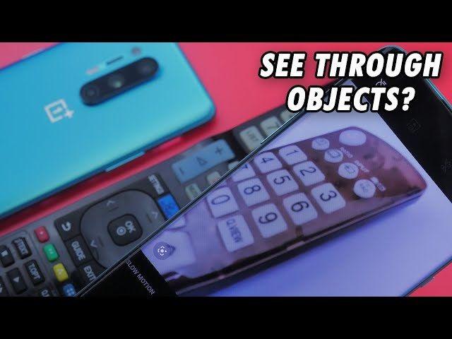 , OnePlus 8 Pro 5G : un appareil photo pour voir à travers les objets
