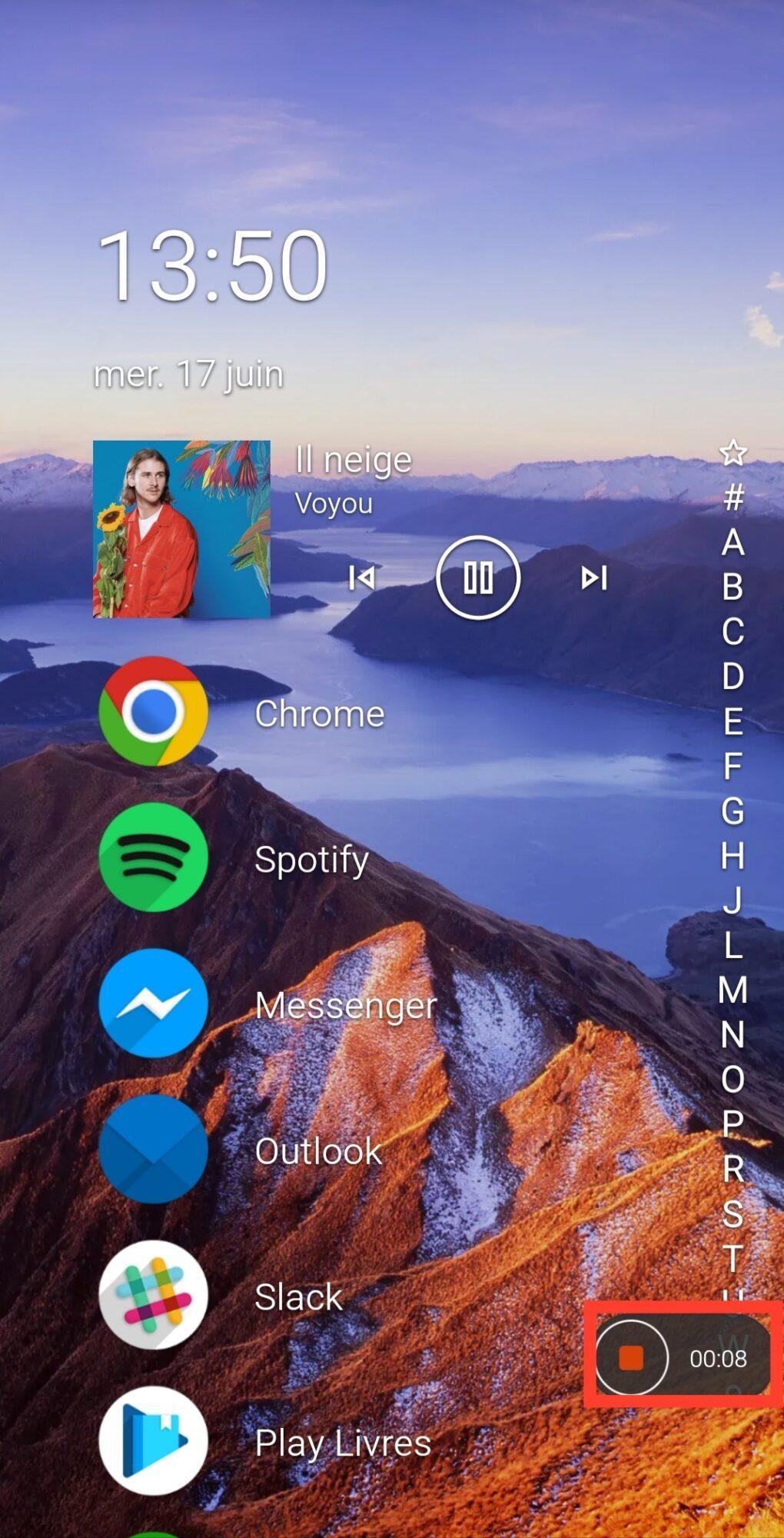 enregistrement-ecran-smartphone-android