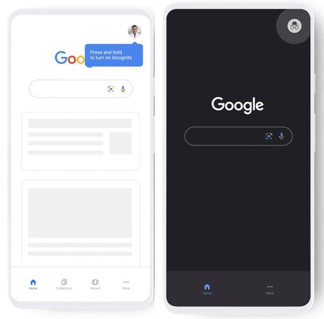 , Google rendra le mode incognito plus accessible
