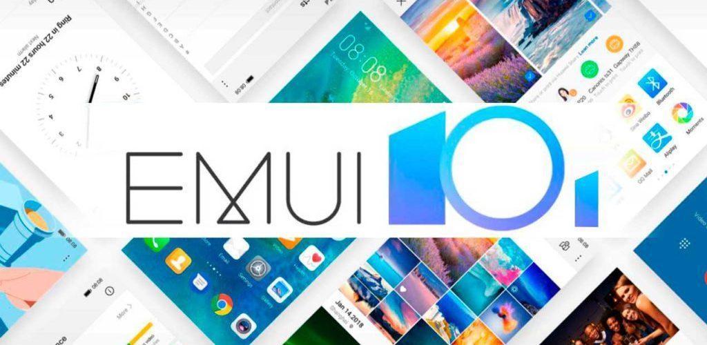 huawei EMUI 10.1 liste smartphones