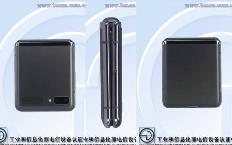 Galaxy Z Flip 5G design