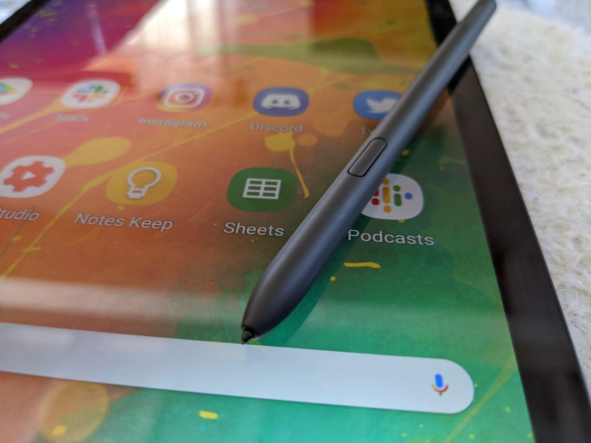s-pen Tab S6 Lite