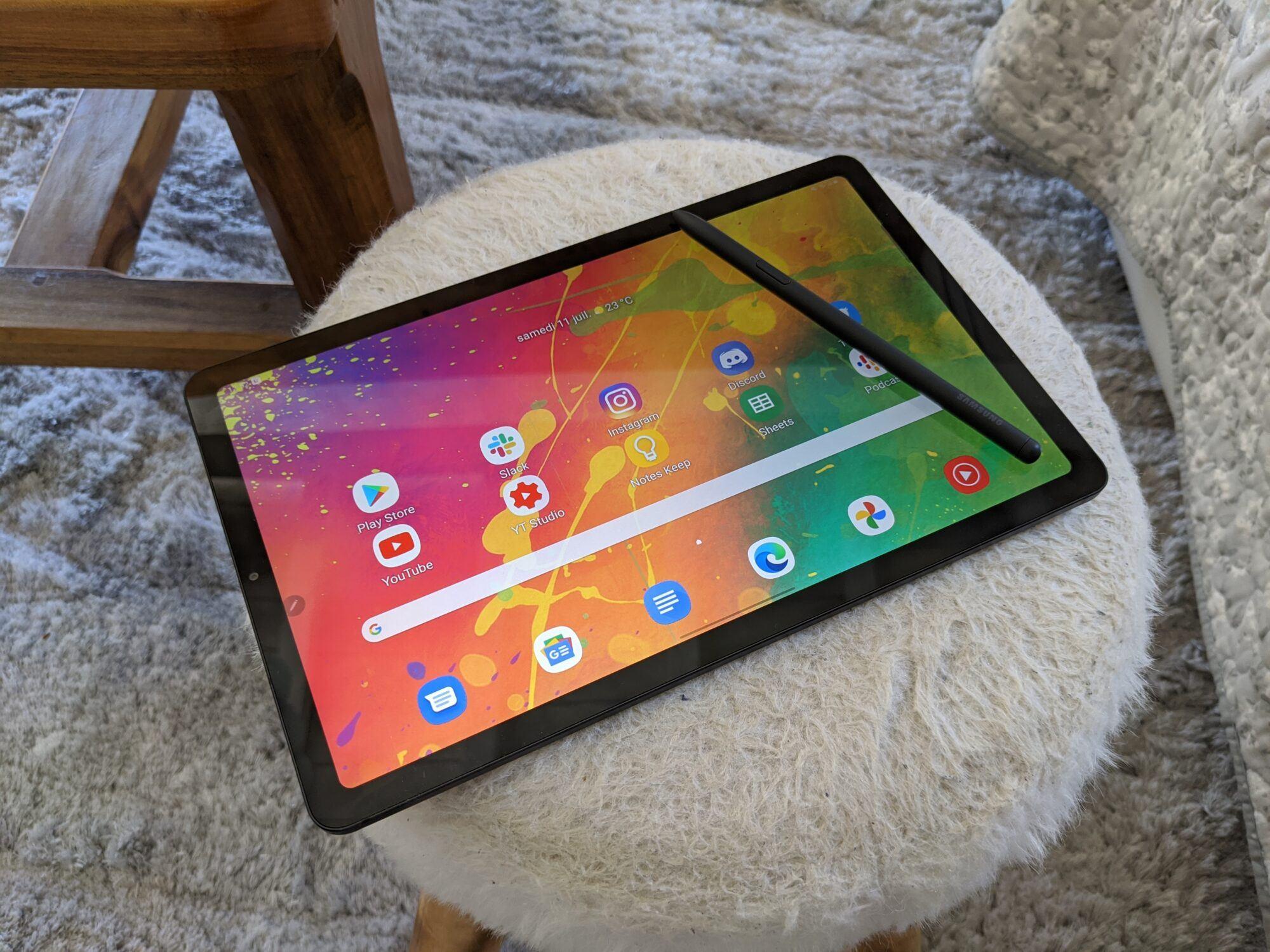 écran Tab S6 Lite