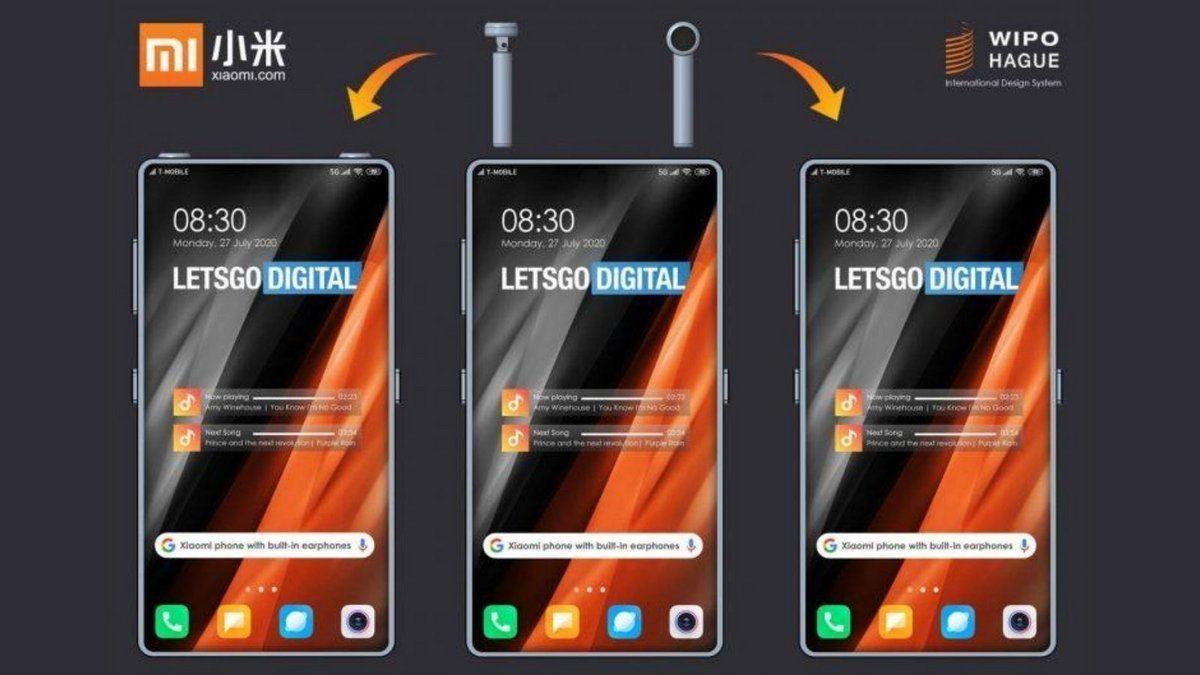 , Un Smartphone doté d'un compartiment pour ranger vos écouteurs sans fils