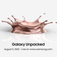 L'événement Galaxy Unpacked a été confirmé pour août