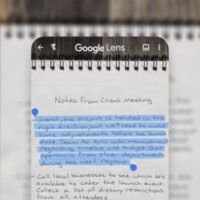 Transformez vos notes manuscrites en texte avec Google Lens