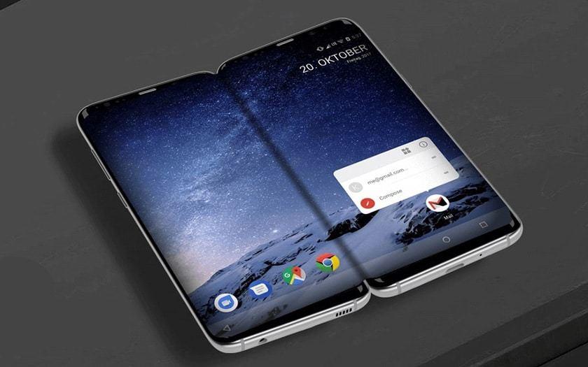 , Un nouveau smartphone pliable pour Samsung