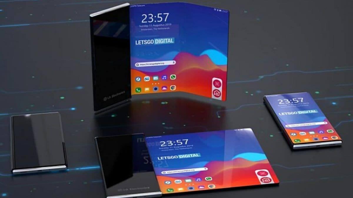 smartphone enroulable, LG : Un smartphone enroulable très particulier