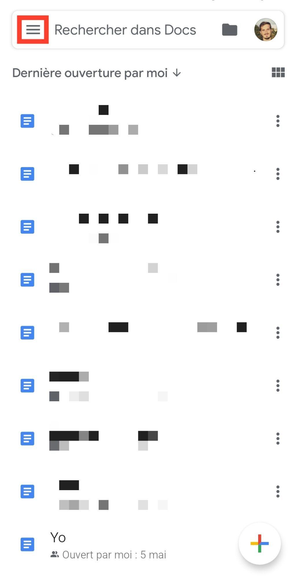 options-google-docs-mode-sombre