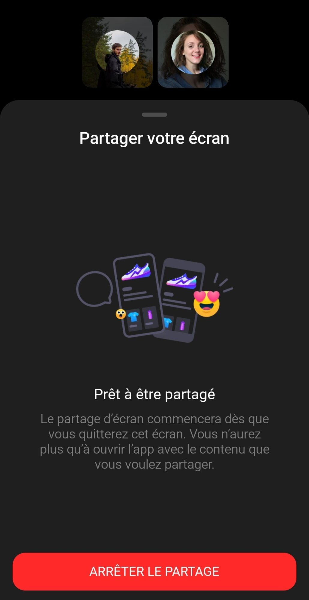 partager-votre-ecran-smartphone-android-facebook-messenger