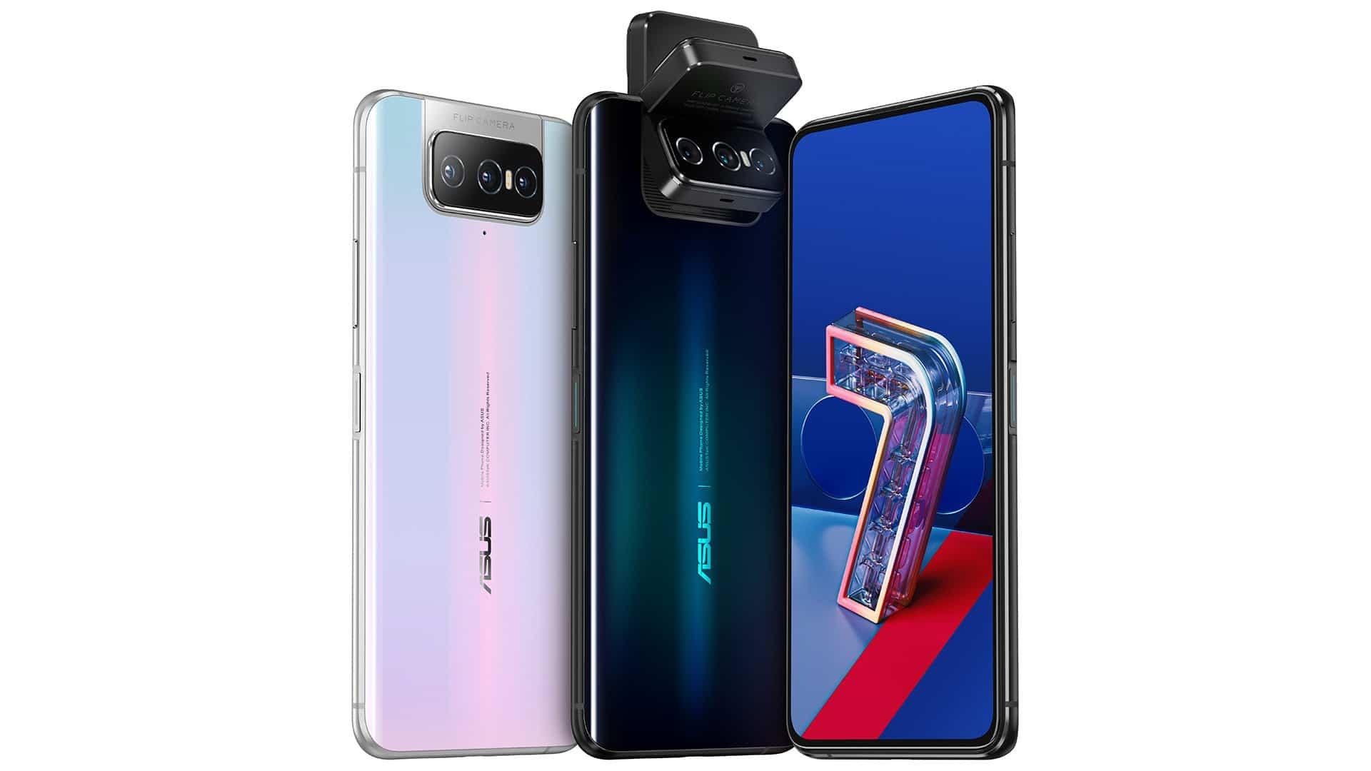 , Asus Zenfone 7 et 7 Pro officialisés : la Flip Caméra avec 3 capteurs photo