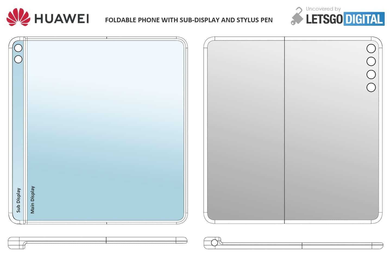 Huawei Mate X2, Huawei Mate X2 : le smartphone pliable se dévoile avant l'heure