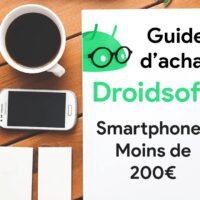 GUIDE – Quels sont les meilleurs smartphones à moins de 200 euros ? (2020)