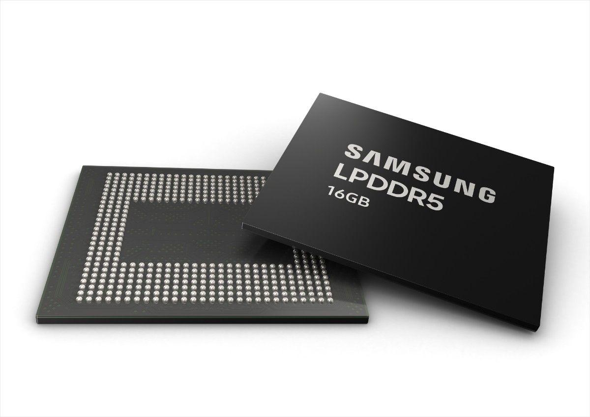 , Galaxy S31 (S30) : Samsung lance la production de la première puce mémoire LPDDR5 16 Go RAM