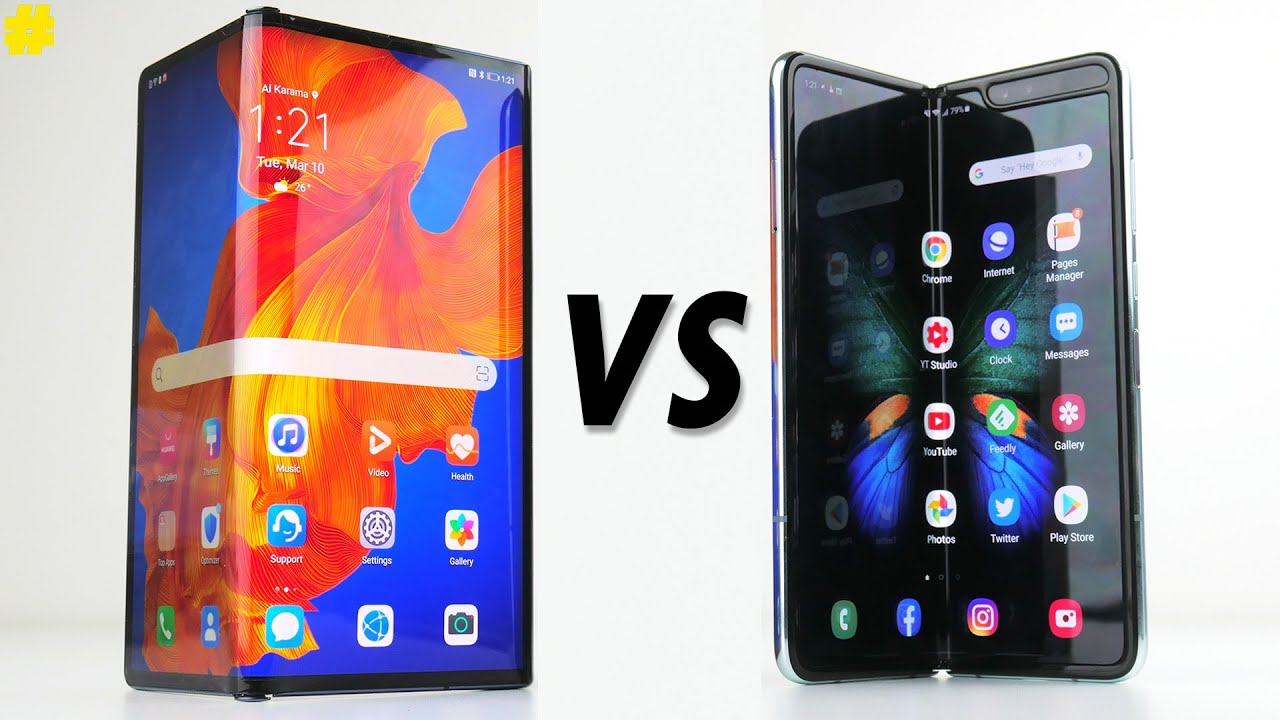 Mate XS vs Fold smartphone pliable