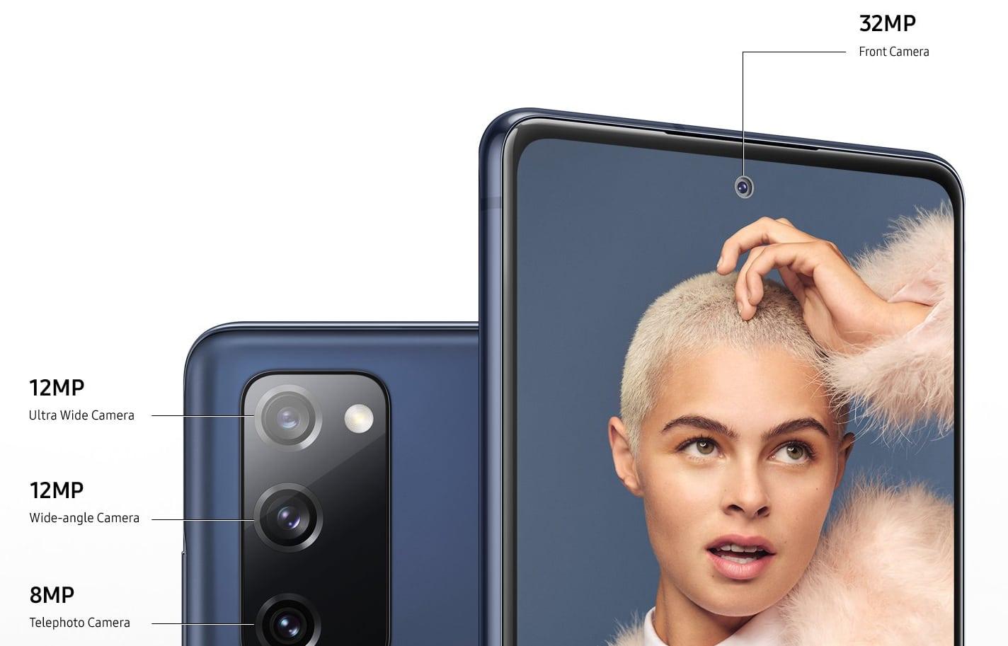 Samsung Galaxy S20 Fan Edition capteurs photo