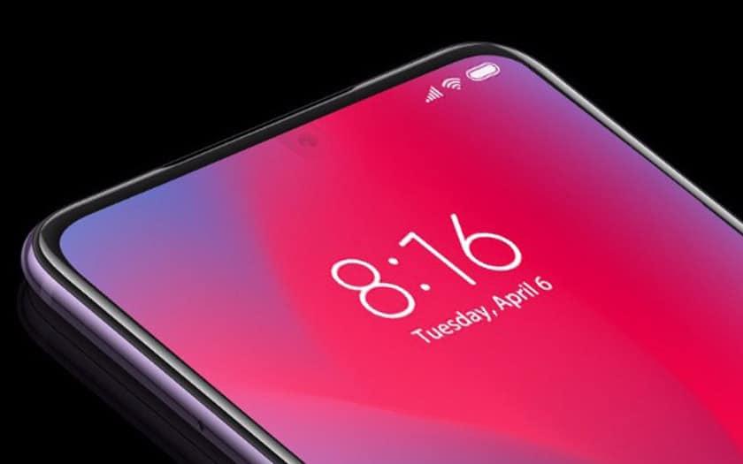 Xiaomi capteurs sous l'écran