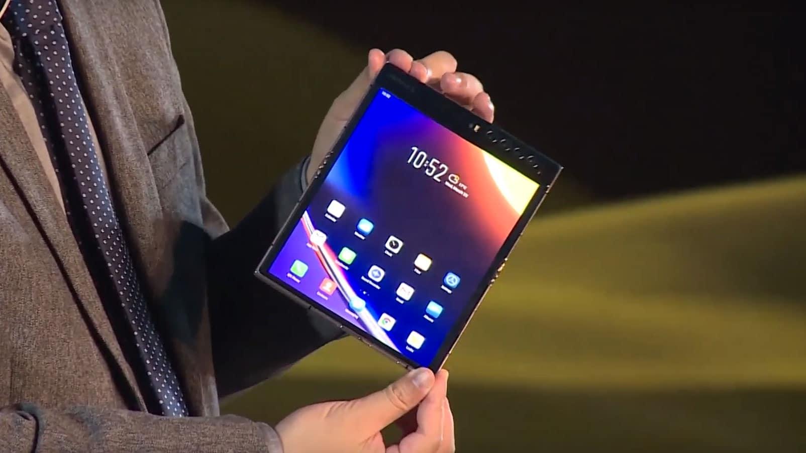 , Royole et son nouveau smartphone pliable