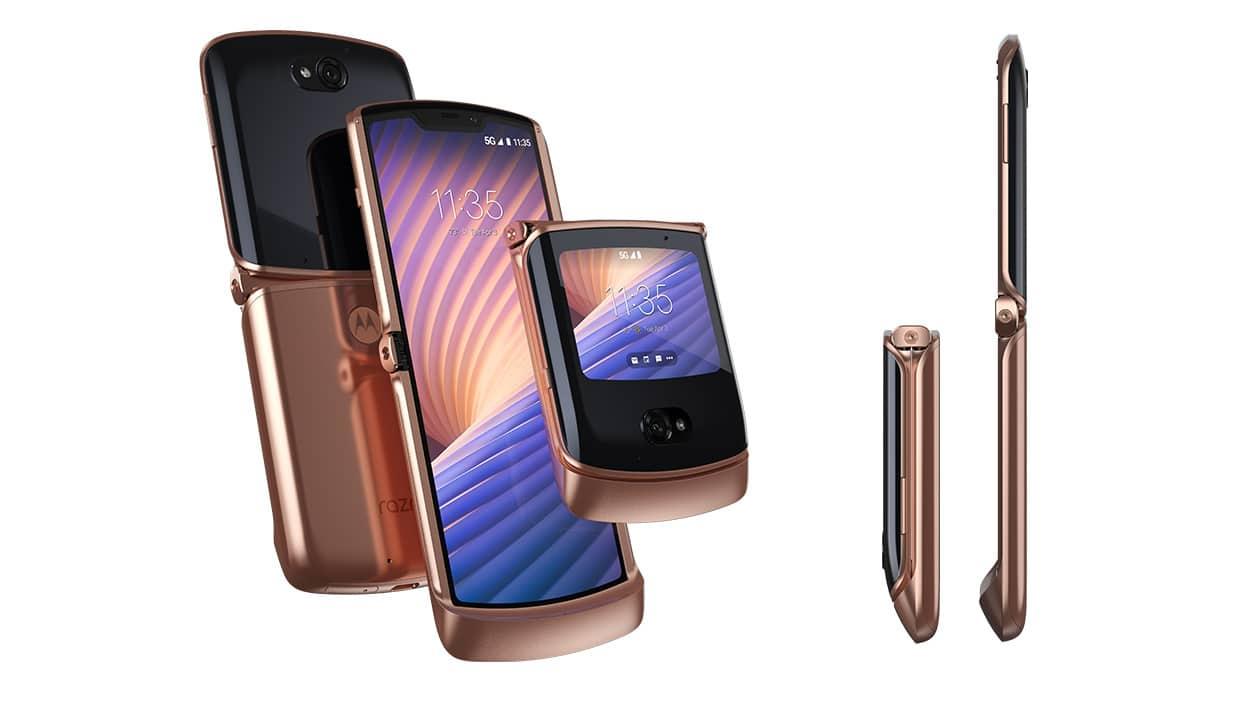 , Motorola officialise le Razr 5G une version améliorée du Razr