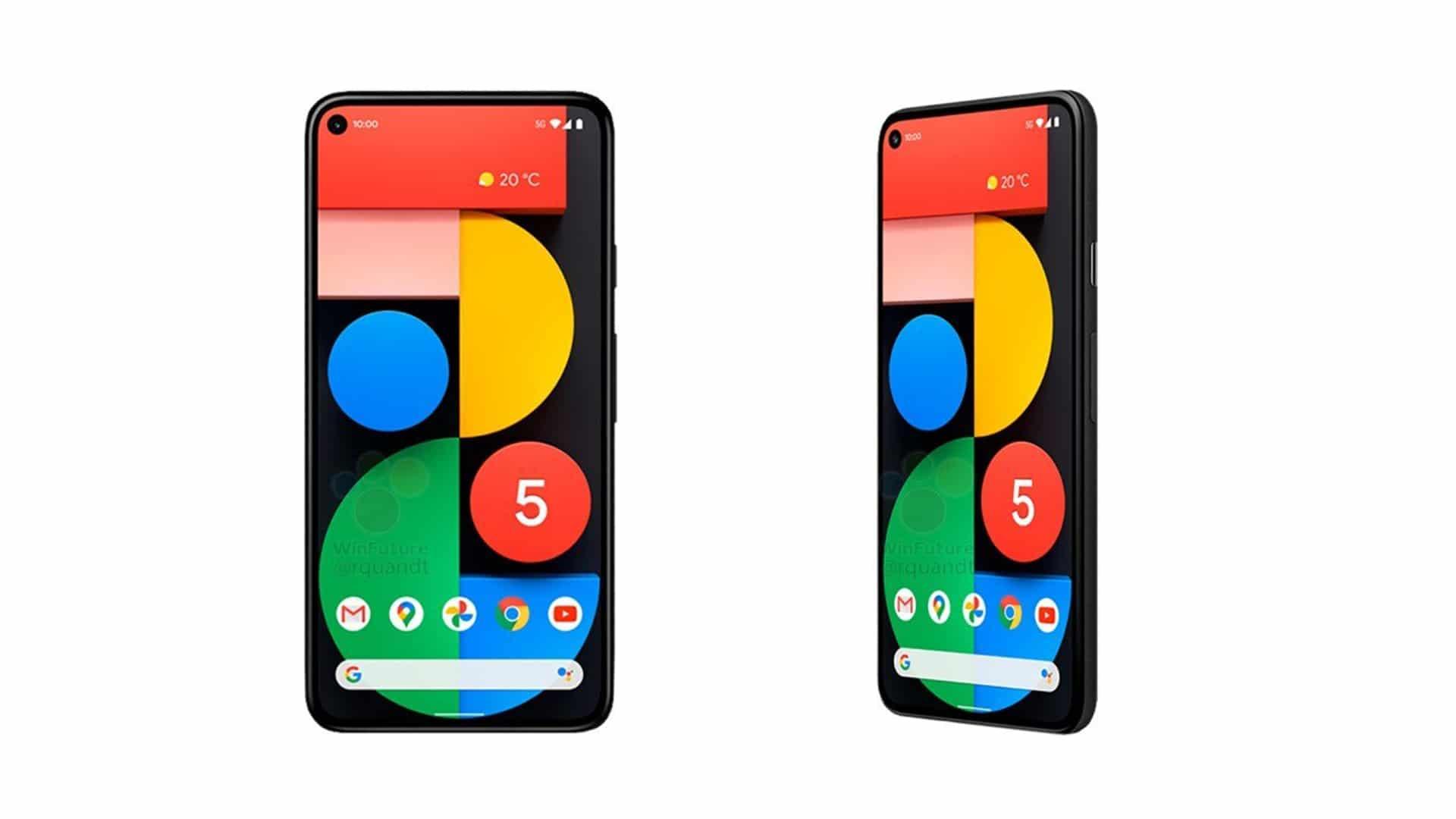google-pixel-5-5G-design-fiche-technique