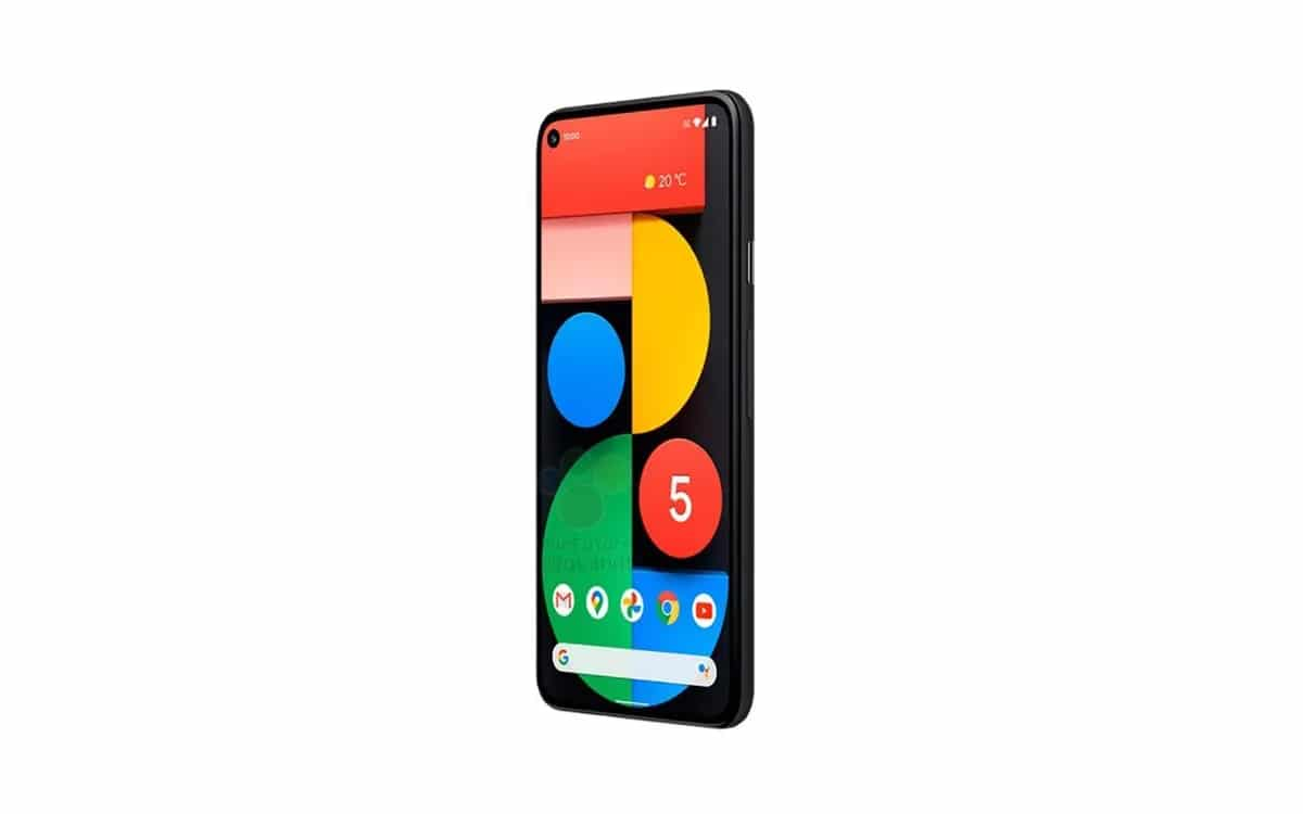 google pixel 5 design fiche technique