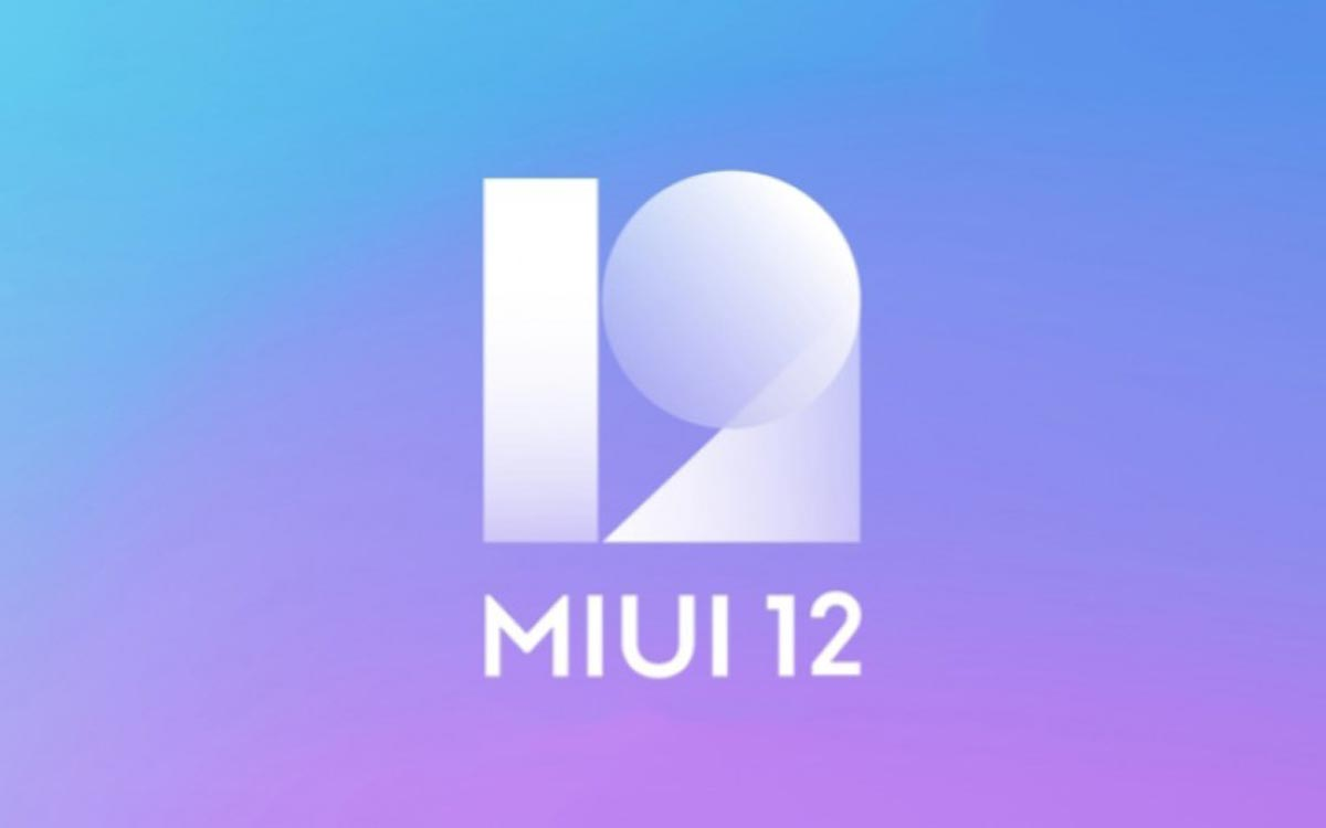 MiUI 12 image officielle