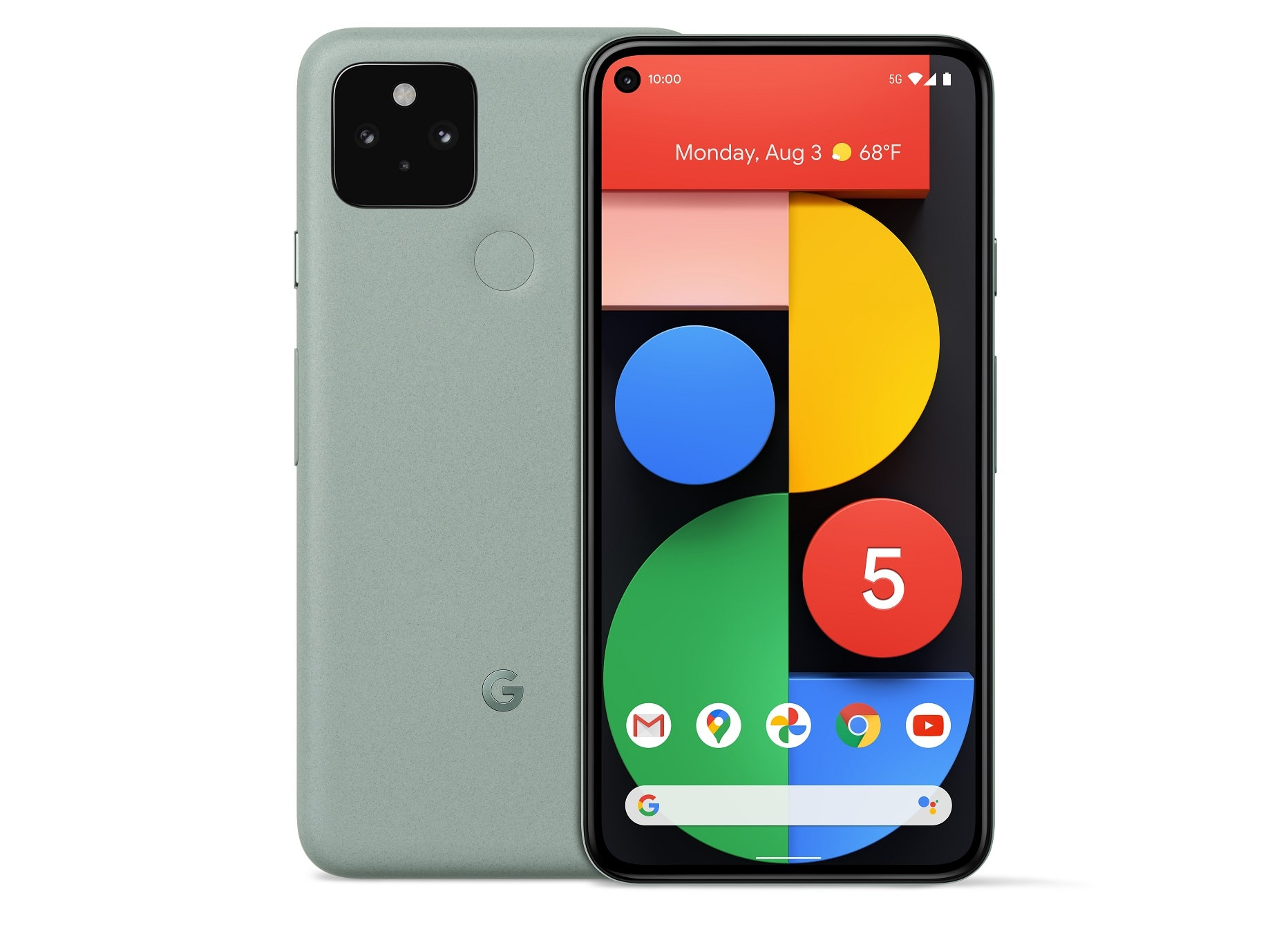 Google Pixel 5, Google Pixel 5 – Fiche technique et informations