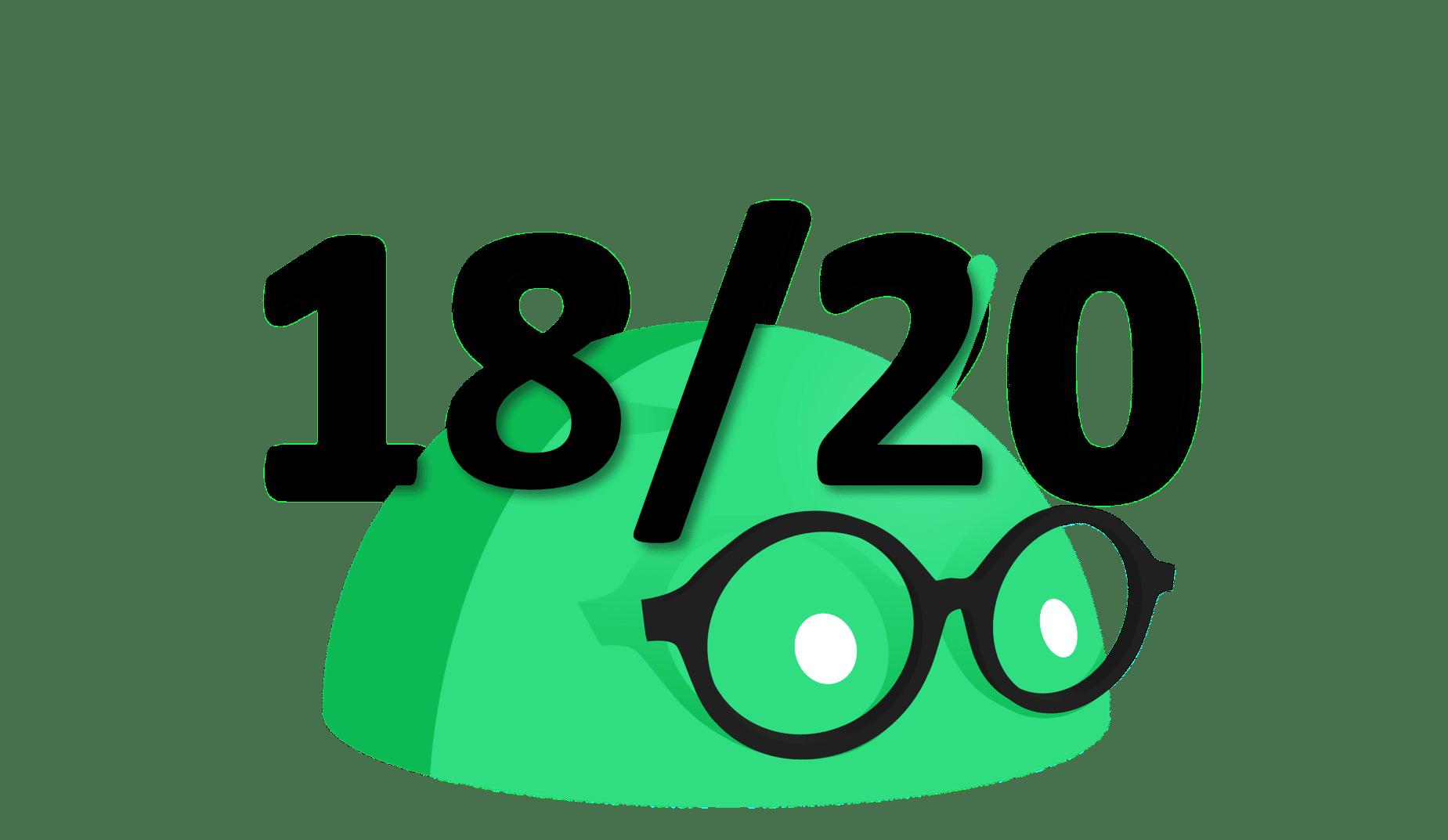 18 sur 20 Note Droidsoft
