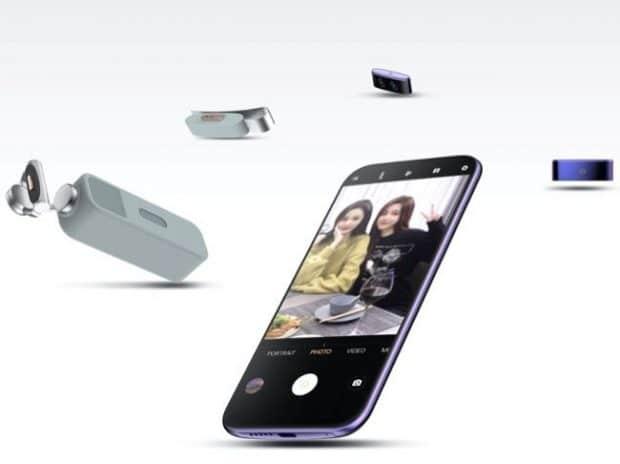 , Vivo : un concept avec camera qui se détache du téléphone
