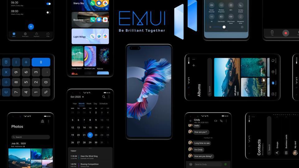 EMUI 11 HarmonyOS smartphones Huawei