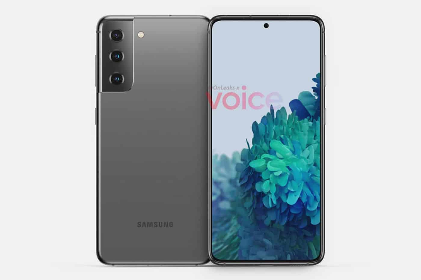 S21 Samsung design bloc optique caméra Galaxy