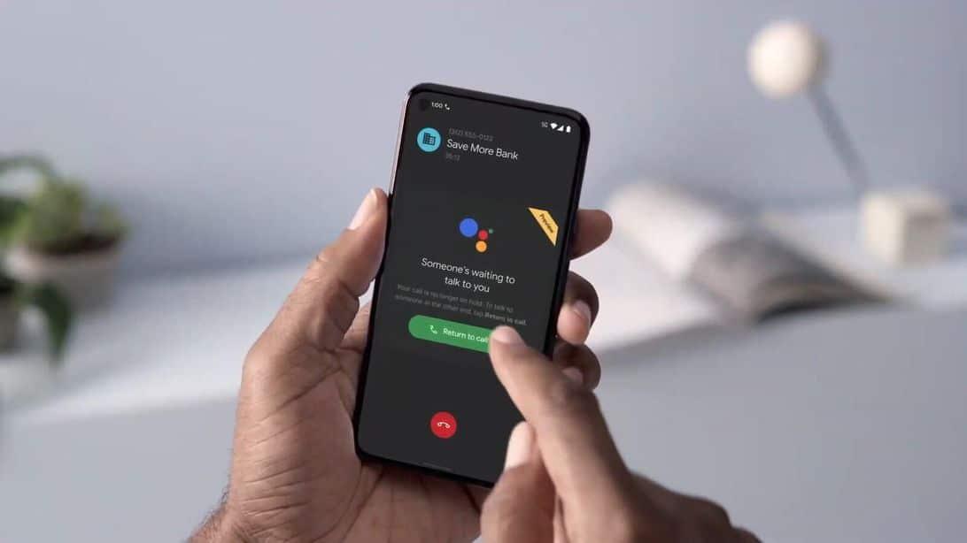 , Le Pixel 5 et le Pixel 4a peuvent patienter à votre place durant la musique d'attente